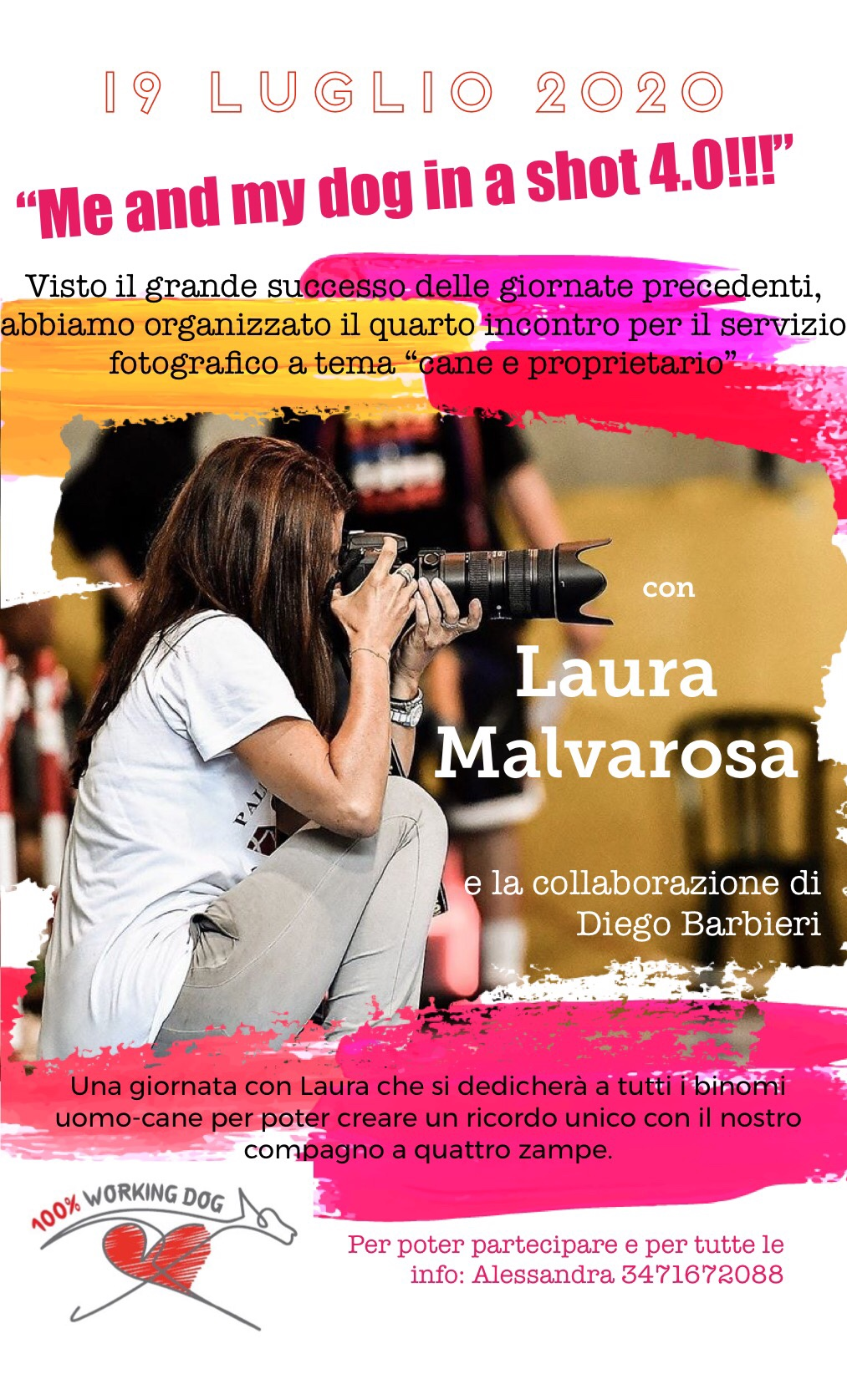 4^ evento fotografico con Laura Malvarosa